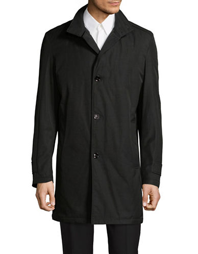Strellson Long Sleeve Coat-BLACK-40