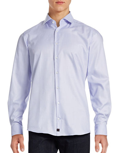 Strellson Santos Slim Fit Shirt-BLUE-43