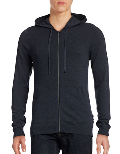 Strellson Cotton-Cashmere Zip Hoodie-NAVY-Large 88499587_NAVY_Large
