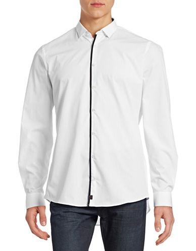 Strellson Slim-Fit Cotton Shirt-WHITE-15.5-34/35