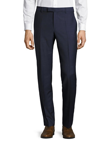 Strellson Wool Mercer Pants-BLUE-28