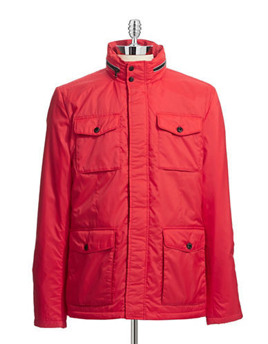 Victorinox Valen II Four-Pocket Jacket-RED-Small