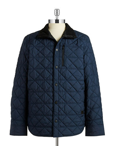 Victorinox Quilted Jacket-DEEP LAKE-Small