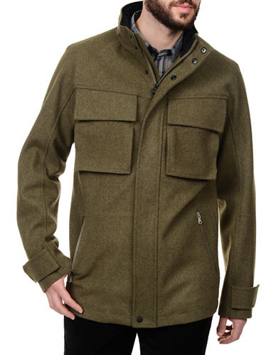 Victorinox Warm Heritage Style Modular Coat-ADMIRAL-Small