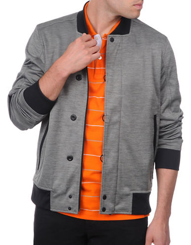 Victorinox Cloud Knit Bomber Jacket-GREY-Large 88910935_GREY_Large