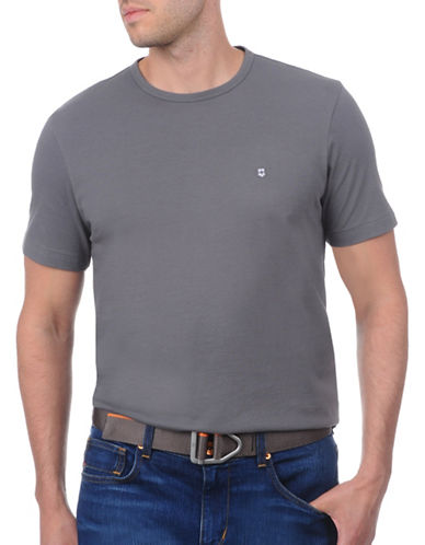 Victorinox Crossroad Solid T-Shirt-GREY-Large 88911038_GREY_Large