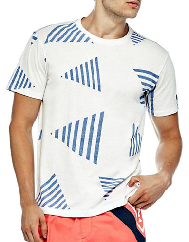 Guess Logo Graphic Beachwear Tee-WHITE-Large 89015132_WHITE_Large