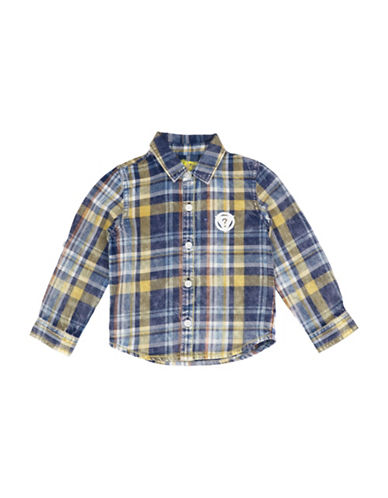Guess Woven Checked Shirt-ASSORTED-3