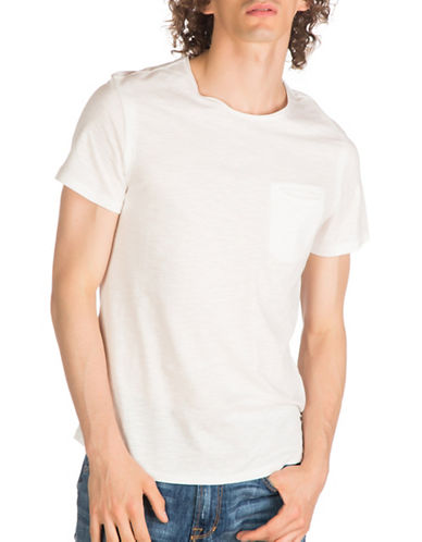 Guess Nolan Cotton T-Shirt-WHITE-X-Large 89279375_WHITE_X-Large