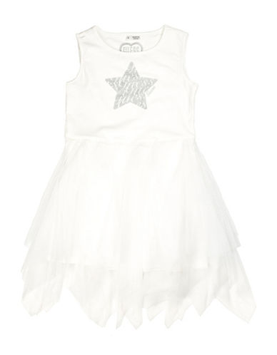 Guess Tulle Dress-WHITE-2T