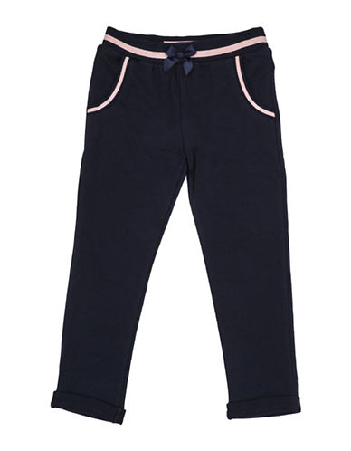 Guess Fleece Jogger Pants-NAVY-5