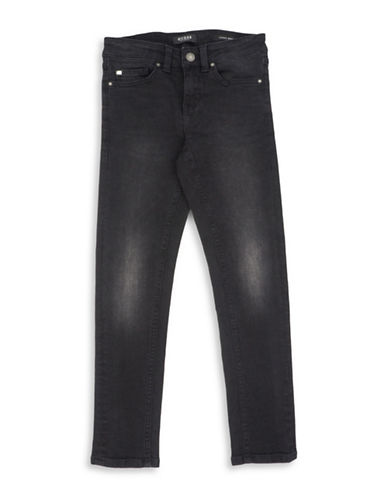 Guess Skinny Fit Jeans-BLACK-8