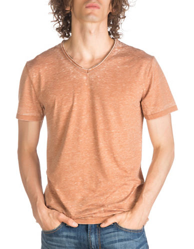 Guess Billy Tee-ORANGE-Small