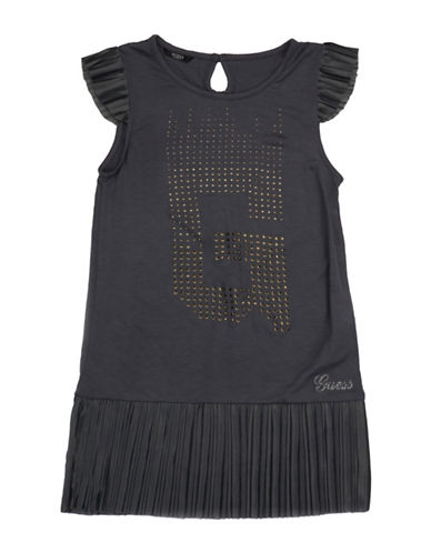 Guess Studded Jersey Top-GREY-7