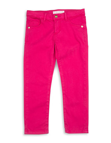 Guess Woven Pants-PINK-6X