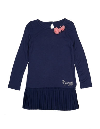 Guess Knitted Dress-NAVY-6