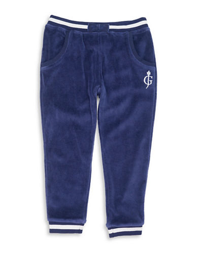Guess Fleece Jogger Pants-BLUE-4