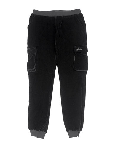 Guess Cargo Jogger Pants-BLACK-7