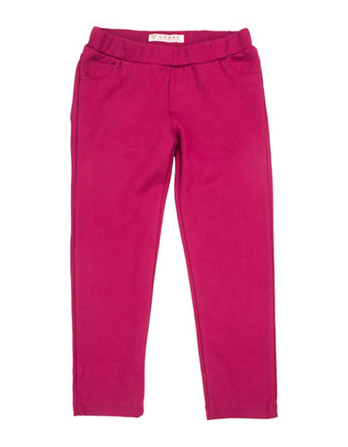 Guess Girls Basic Jeggings-PINK-6X