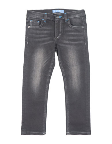 Guess Skinny-Fit Washed Jeans-BLACK-7