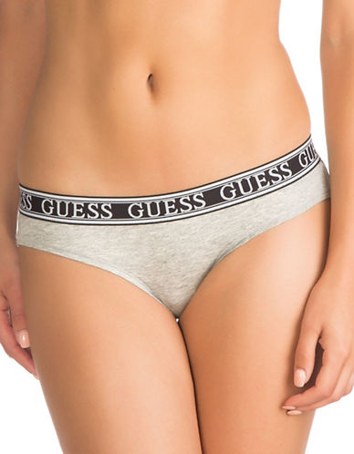 Guess Logo Band Briefs-GREY-X-Small