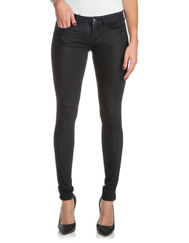 Guess Classic Skinny Jeggings-BLACK-32