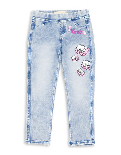 Guess Graphic Stretch Knit Denim Jeans-BLUE-6