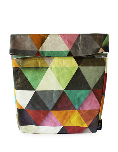 Funch Prism-Print Large Lunch Bag-MULTI-One Size