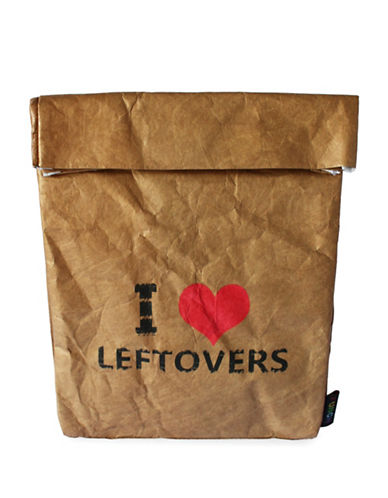 Funch Leftover Large Lunch Bag-BROWN-One Size