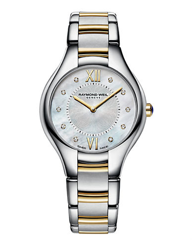 Raymond Weil Womens Noemia Quartz 5132STP00985 Watch-TWO TONE-One Size