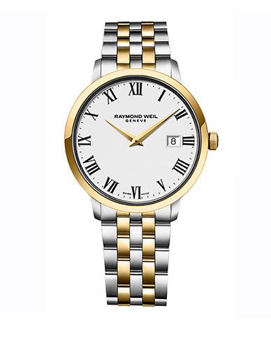 Raymond Weil Mens Toccata Quartz 5488STP00300 Watch-TWO TONE-One Size