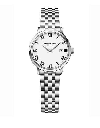 Raymond Weil Womens Toccata Quartz 5988ST00300 Watch-SILVER-One Size