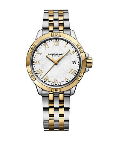 Raymond Weil 30mm Tango Two-Tone Stainless Steel Bracelet Watch-TWO-TONE-One Size