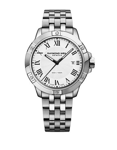 Raymond Weil 41mm Tango Stainless Steel Bracelet Watch-SILVER-One Size
