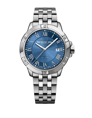 Raymond Weil Tango Stainless Steel Bracelet Watch-BLUE-One Size