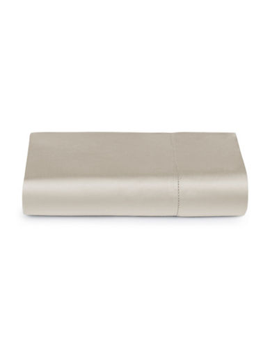 Hotel Collection 600TC Egyptian Cotton Flat Sheet-NICKEL-King