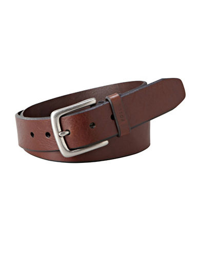 Fossil Joe Brown Belt-BROWN-32