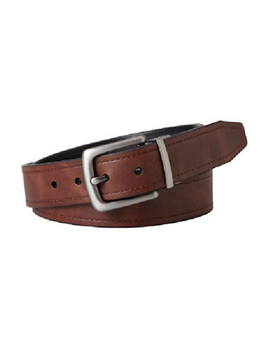 Fossil Parker Reversible Belt-BROWN-32