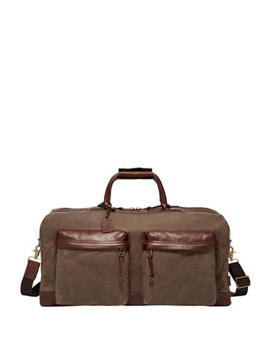 Fossil Defender Duffle Bag-BROWN-One Size