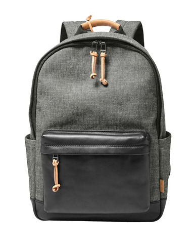 Fossil Defender Backpack-GREY-One Size