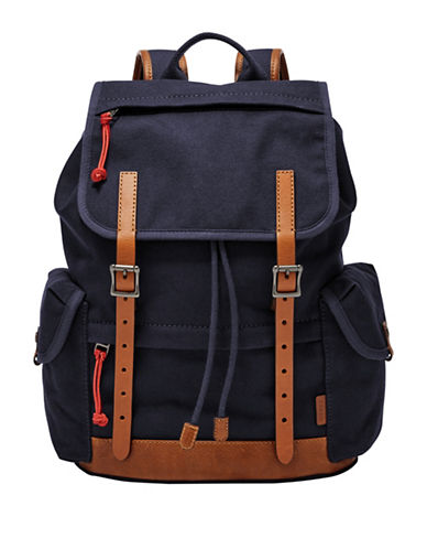 Fossil Defender Rucksack-NAVY-One Size