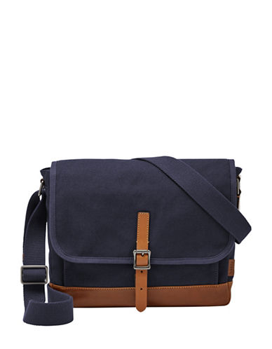 Fossil Defender EW City Bag-NAVY-One Size