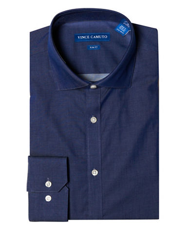 Vince Camuto Slim Fit Dress Shirt-BLUE-16-34/35