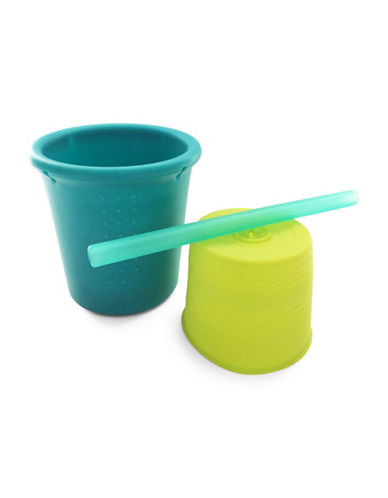 Silikids Silicone Straw Cup Set-MULTI-One Size