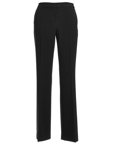 Anne Klein Straight Leg Pant 33-BLACK-6