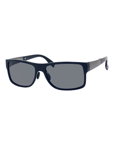 Boss Plastic Rectanglar Frames-BLUE-One Size