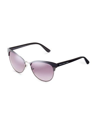 Marc Jacobs Metal Cat Eye Sunglasses-RUTHENIUM-One Size