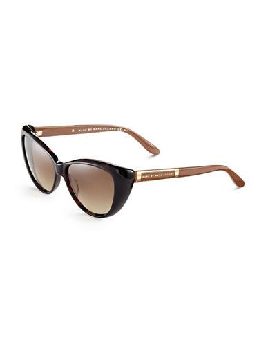 Marc Jacobs Cat Eye Sunglasses-HAVANA-One Size