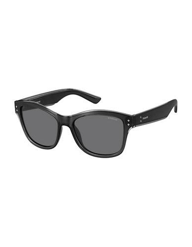 Polaroid PLD4034S 54mm Rectangular Sunglasses-GREY-One Size