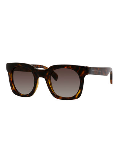 Marc Jacobs 47mm Rounded Square Sunglasses-HAVANA-One Size